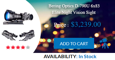 Night Vision Rifle Scopes : Bering Optics D-790U 6x83 Elite Night Vision Sight