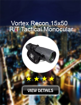 Vortex Recon 15x50 R/T Tactical Monocular