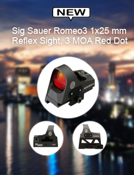 Sig Sauer Romeo3 1x25 mm Reflex Sight