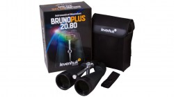 2.Levenhuk Bruno PLUS Astronomy 20x80 Binoculars, Black, Medium 71147