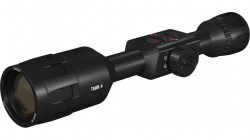 ATN ThOR 4, 384x288 Sensor, 4.5-18x Thermal Smart HD Rifle Scope w WiFi, GPS, Black, TIWST4384A