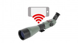 ATN X-Spotter HD 20-80x Smart Day Night Spotting Scope w1