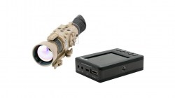 Armasight OPMOD Zeus 336 5-20x75 - 30 Hz - Thermal Imaging Weapon Sight, FLIR Tau 2 - 336x256 - 17m, TAN