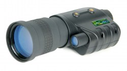 Bering Optics 4.3x60 HiPo Gen I Night Vision Monocular, Black, 10.5inx3.9inx2.8in BE142608