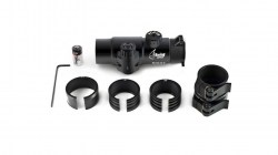 Bering Optics Night Probe Mini Gen 2+ Clip-on Night Vision Attachment, w Clip-on for 24-40mm Lenses, Black BE26141