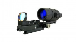 Bering Optics eXact Precision Gen I Night Vision kit with a Sensor Reflex Sight Combo, Black BE16044C