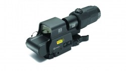 EOTech Holographic Weapon Sight, EXPS2-GRN HWS 65 MOA Green Ring w 2 Green Dots