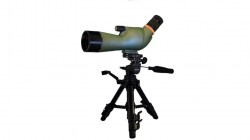 Kruger Optical Back Country Compact 15-45x60 Angled Spotting Scope, Green, 66395A