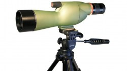 Kruger Optical Back Country Compact 15-45x60 Straight Spotting Scope, Green, 66396A