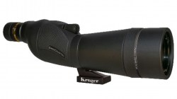 Kruger Optical Backcountry Spotting Scope 15-45x60 Straight, Black 60305