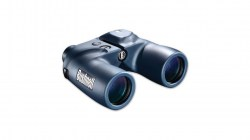 New Bushnell Marine 7x50 Porro Binoculars with Grid Reticle, Illum. Compass, Black 1375007
