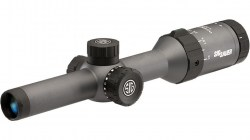 Sig Sauer Whiskey5 1-5x20 1in Tube Hunting Riflescope w CirclePlex Illuminated Fiber Dot Reticle-02