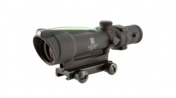 Trijicon 3.5x35 ACOG Illuminated Scope with Green Chevron Reticle-02
