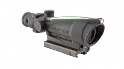 Trijicon 3.5x35 ACOG Illuminated Scope with Green Chevron Reticle