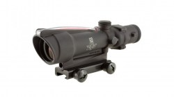 Trijicon ACOG 3.5x35 Illuminated Scope Red Chevron Reticle-02