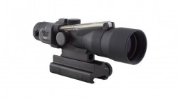 Trijicon ACOG 3x30 Illuminated Riflescope, Amber Chevron .308 Ballistic Reticle