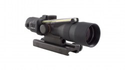 Trijicon ACOG 3x30 Illuminated Riflescope, Amber Horseshoe Dot 7.62x39 Reticle