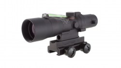 Trijicon ACOG 3x30 Scope, Dual Illuminated Green Chevron .223 Ballistic Reticle-02