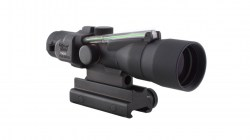Trijicon ACOG 3x30 Scope, Dual Illuminated Green Chevron .223 Ballistic Reticle