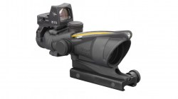 Trijicon ACOG 4x32 Dual Illuminated Amber Crosshair .223 Ballistic Reticle