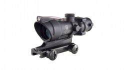 Trijicon ACOG 4x32 Illuminated Riflescope, Red Chevron BAC Reticle-02