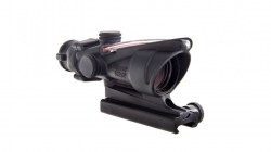 Trijicon ACOG 4x32 Illuminated Riflescope, Red Chevron BAC Reticle