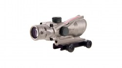 Trijicon ACOG 4x32 Nickel Boron Dual Illum. Red Chevron .223 BAC Reticle-02