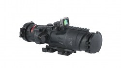 Trijicon ACOG 6x48 Machine Gun Day Optic, Dual Illuminated Horseshoe Dot M240