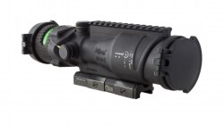 Trijicon ACOG 6x48 Machine Gun Optic, Ill Green Horseshoe Dot .50 Ball Reticle
