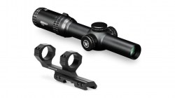 Vortex Strike Eagle 1-6x24 Rifle Scope,AR-BDC Reticle w 2in Offset Mount